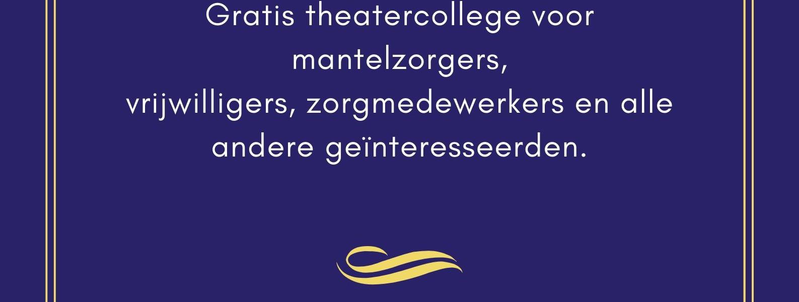 """Theatervoorstelling """"Dag Mama"""" gaat niet door"""